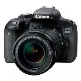 Canon EOS 800D Kit + 18-135mm IS STM   2 Years Warranty
