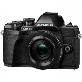 Olympus OM-D E-M10 III Black + M.ZUIKO 14-42 mm f/3.5-5.6 EZ Pancake | 2 Years Warranty