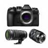 Olympus OM-D E-M1 II Noir + M.ZUIKO ED 12-40 mm f/2.8 PRO + M.ZUIKO ED 40-150 mm f/2.8 PRO | Garantie 2 ans