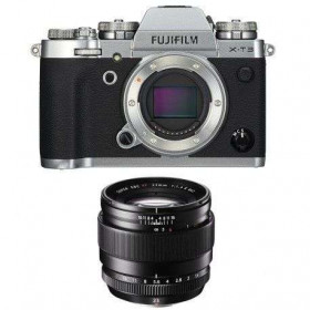 Fujifilm X-T3 Plata + Fujinon XF 23mm f/1.4 R Negro