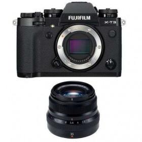 Fujifilm X-T3 Black + Fujinon XF 35 mm f/2 R WR | 2 Years Warranty
