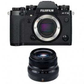 Fujifilm X-T3 Negro + Fujinon XF 35 mm f/2 R WR