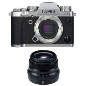 Fujifilm X-T3 Silver + Fujinon XF 35 mm f/2 R WR Noir