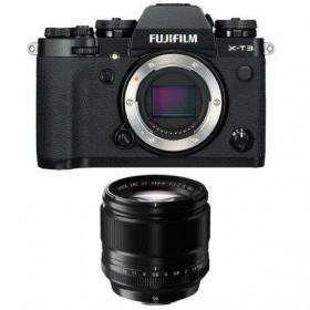 Fujifilm X-T3 Noir + Fujinon XF 56mm f/1.2 R