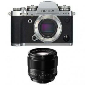 Fujifilm X-T3 Plata + Fujinon XF 56mm f/1.2 R Negro
