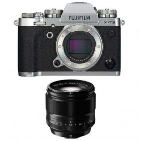 Fujifilm X-T3 Silver + Fujinon XF 56mm f/1.2 R Noir