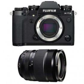 Fujifilm X-T3 Black + Fujinon XF 18-135mm f3.5-5.6 R LM OIS WR | 2 Years Warranty