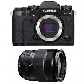 Fujifilm X-T3 Noir + Fujinon XF 18-135mm f3.5-5.6 R LM OIS WR