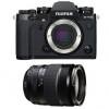 Fujifilm X-T3 Noir + Fujinon XF 18-135mm f3.5-5.6 R LM OIS WR | Garantie 2 ans