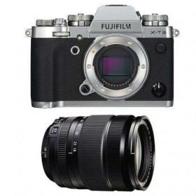Fujifilm X-T3 Silver + Fujinon XF 18-135mm f3.5-5.6 R LM OIS WR Noir