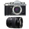 Fujifilm X-T3 Silver + Fujinon XF 18-135mm f3.5-5.6 R LM OIS WR Noir   Garantie 2 ans
