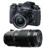 Fujifilm X-T3 Noir + Fujinon XF 18-55 mm f/2.8-4 R LM OIS + Fujinon XF 50-140mm F2.8 R LM OIS WR | Garantie 2 ans