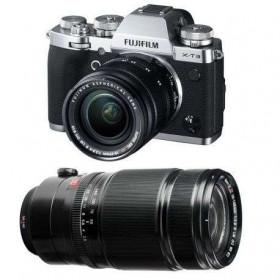 Fujifilm X-T3 Plata + Fujinon XF 18-55 mm f/2.8-4 R LM OIS + Fujinon XF 50-140mm F2.8 R LM OIS WR Negro