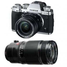 Fujifilm X-T3 Silver + Fujinon XF 18-55 mm f/2.8-4 R LM OIS + Fujinon XF 50-140mm F2.8 R LM OIS WR Noir