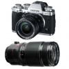Fujifilm X-T3 Silver + Fujinon XF 18-55 mm f/2.8-4 R LM OIS +  Fujinon XF 50-140mm F2.8 R LM OIS WR Noir | Garantie 2 ans