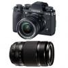 Fujifilm X-T3 Noir + Fujinon XF 18-55 mm f/2.8-4 R LM OIS + Fujinon XF 55-200mm F3.5-4.8 R LM OIS | Garantie 2 ans