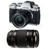 Fujifilm X-T3 Silver + XF 18-55 mm f/2.8-4 R LM OIS Black + XF 55-200mm F3.5-4.8 R LM OIS Black | 2 Years Warranty
