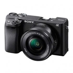 Sony Alpha 6400 Nu Noir + SEL E PZ 16-50 mm f/3