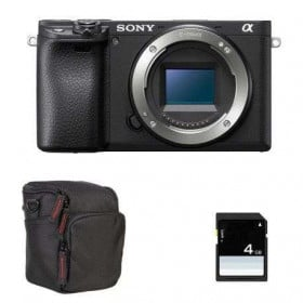 Sony Alpha 6400 Body Black + Bag + SD 4 Go   2 Years Warranty