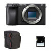 Sony Alpha 6400 Body Black + Bag + SD 4 Go | 2 Years Warranty