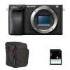 Sony Alpha 6400 Nu Noir + Sac + SD 4 Go | Garantie 2 ans