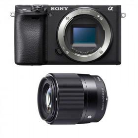 Sony Alpha 6400 Nu Noir + Sigma 30mm f1.4 DC DN C