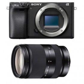 Sony Alpha 6400 Body Black + Sony E 18-200 mm f/3.5-6.3 OSS LE   2 Years Warranty