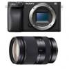 Sony Alpha 6400 Nu Noir + Sony E 18-200 mm f/3.5-6.3 OSS LE | Garantie 2 ans