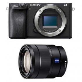 Sony Alpha 6400 Body Black + Sony E 16-70 mm f/4 OSS Zeiss Vario-Tessar T*   2 Years Warranty