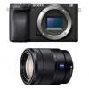 Sony Alpha 6400 Body Black + Sony E 16-70 mm f/4 OSS Zeiss Vario-Tessar T* | 2 Years Warranty