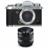 Fujifilm X-T3 Silver + Fujinon XF 14mm F2.8 R Noir | Garantie 2 ans