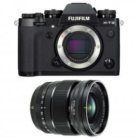 Fujifilm X-T3 Noir + Fujinon XF16mm F1.4 R WR