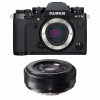 Fujifilm X-T3 Black + Fujinon XF 27mm f/2.8   2 Years Warranty