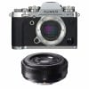 Fujifilm X-T3 Silver + Fujinon XF 27mm f/2.8 Black   2 Years Warranty