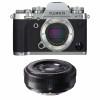 Fujifilm X-T3 Silver + Fujinon XF 27mm f/2.8 Noir | Garantie 2 ans