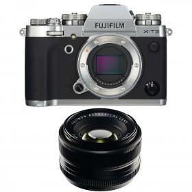 Fujifilm X-T3 Plata+  Fujinon XF 35mm f1.4 R Negro