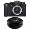 Fujifilm X-T3 Black + Fujinon XF 18mm f/2.0 R   2 Years Warranty
