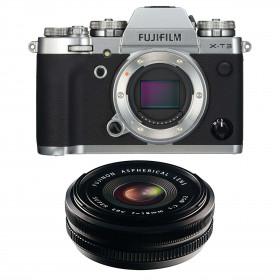 Fujifilm X-T3 Silver + Fujinon XF 18mm f/2.0 R Black | 2 Years Warranty