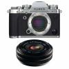 Fujifilm X-T3 Plata + Fujinon XF 18mm f/2.0 R Negro