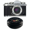 Fujifilm X-T3 Silver + Fujinon XF 18mm f/2.0 R Noir | Garantie 2 ans