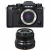 Fujifilm X-T3 Black + Fujinon XF 23mm F2 R WR | 2 Years Warranty