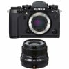 Fujifilm X-T3 Noir + Fujinon XF 23mm F2 R WR | Garantie 2 ans