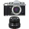 Fujifilm X-T3 Silver + Fujinon XF 23mm F2 R WR Noir | Garantie 2 ans