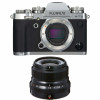 Fujifilm X-T3 Silver + Fujinon XF 23mm F2 R WR Noir