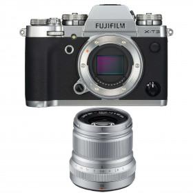 Fujifilm X-T3 Silver + Fujinon XF 50mm F2 R WR Silver | 2 Years Warranty