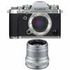 Fujifilm X-T3 Silver + Fujinon XF 50mm F2 R WR Silver | Garantie 2 ans