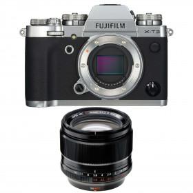 Fujifilm X-T3 Plata + Fujinon XF 56mm F1.2 R APD Negro