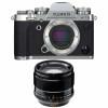 Fujifilm X-T3 Silver + Fujinon XF 56mm F1.2 R APD Noir | Garantie 2 ans