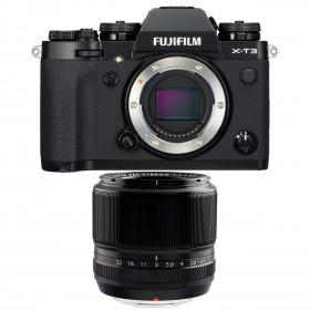 Fujifilm X-T3 Black + Fujinon XF 60mm f2.4 R | 2 Years Warranty