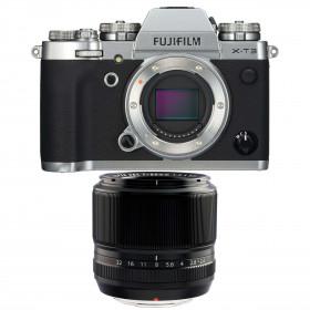Fujifilm X-T3 Plata + Fujinon XF 60mm f2.4 R Negro